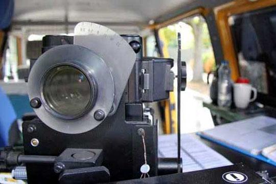 Fire bilister fik fartbøder i Rønne