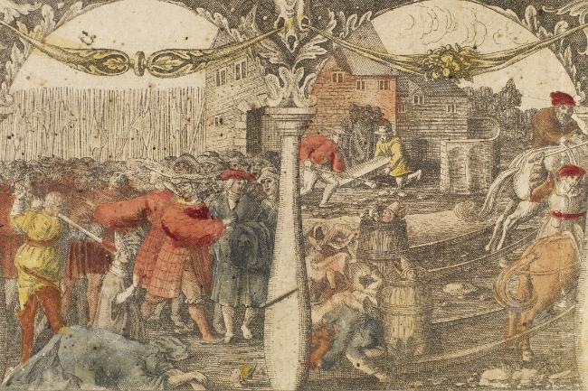 Blodigt slag i november 1520