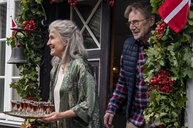 Forpremiere på dansk komedie