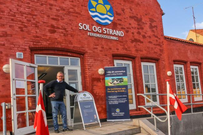 Sol og Strand-kontor fejrer 10 års jubilæum