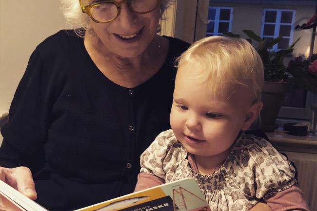 Ny børnebog med bornholmske ord