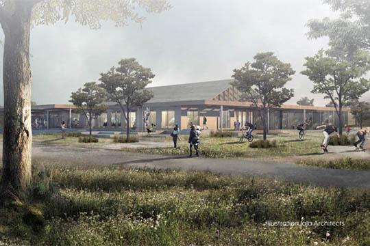 Plan for nyt børnehus klar til foråret