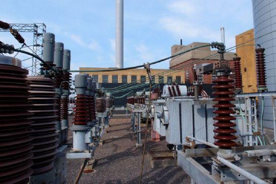 Dele af Rønne ramt af strøm- og varmesvigt
