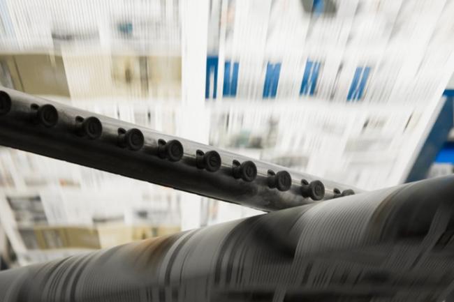 Tidende skal trykkes på Sjælland