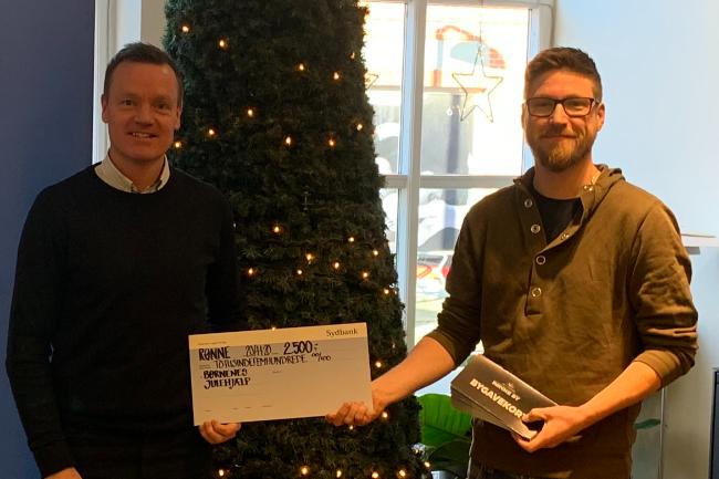Sydbank støtter Børnenes Julehjælp