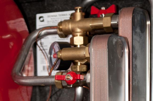 Rønne Varme: Check varmeveksler