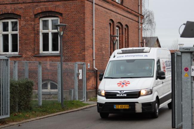 BHS Logistics kører vacciner