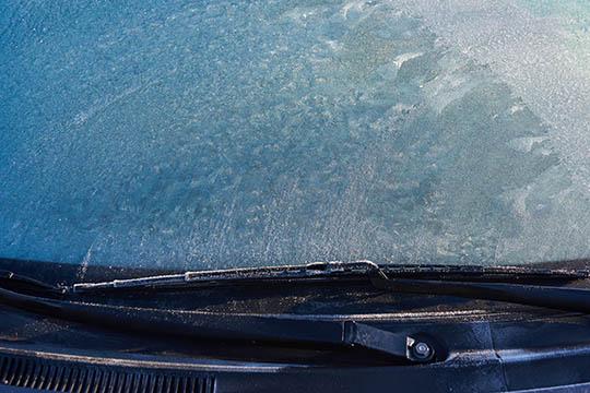 Du skal sikre dig frit udsyn fra bilen