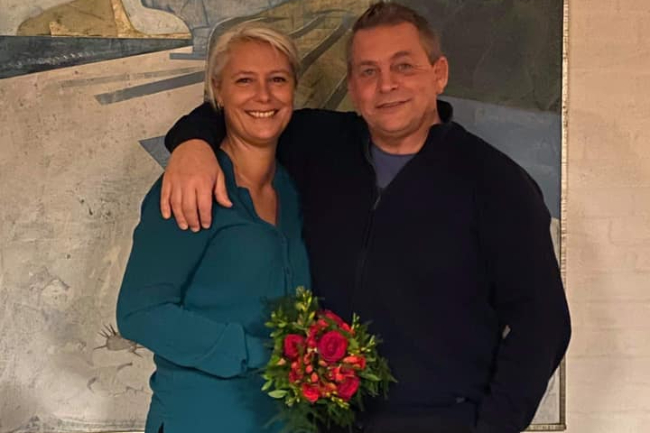 Travtræner gift i dag