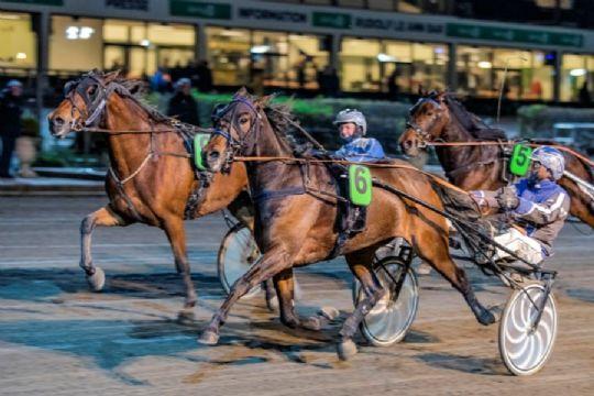 Bornholmers hest slået på målstregen