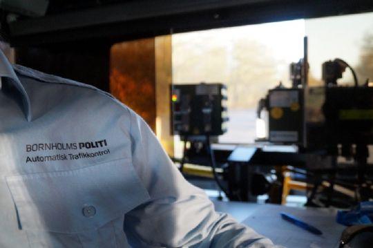 Fartbøder til 12 bilister i Nexø
