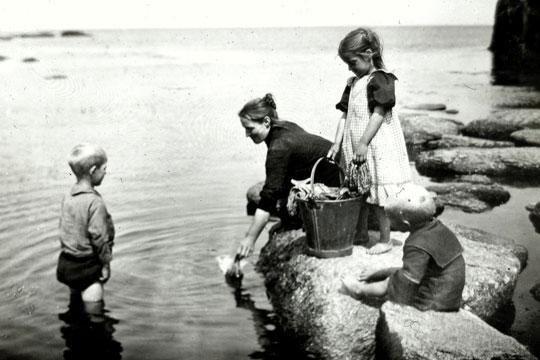 I gamle dage var det ufint at vaske tit