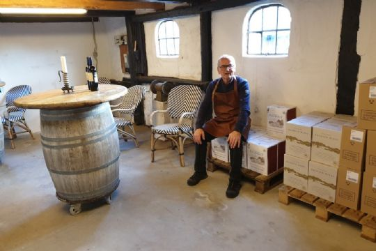 Nyt vinlagersalg klar til åbning i Aakirkeby