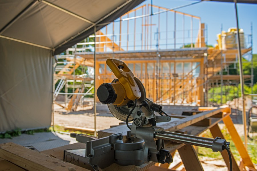 Overskud i tømrerfirma trods nedgang