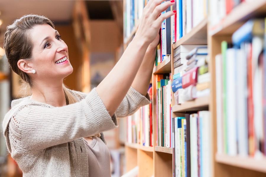 Beskedent overskud i Nexøs boghandel