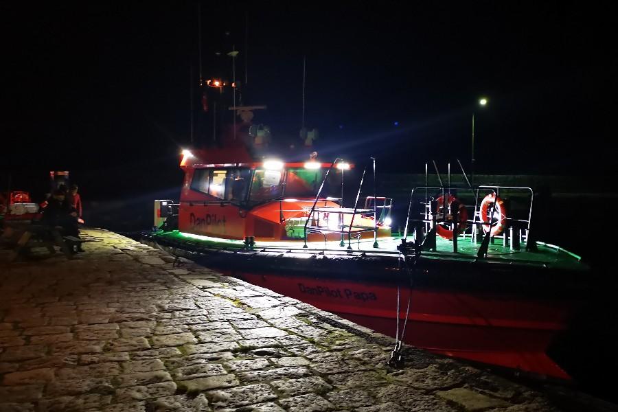 Ny miljørigtig lodsbåd ankommet til Allinge