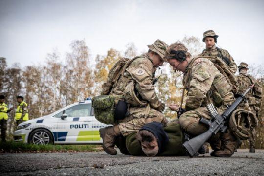 Soldater fra Almegård får politiopgaver