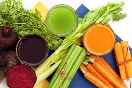 Drik grøntsagerne