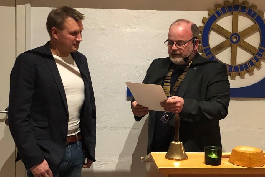 Ny i Rotary Nexø