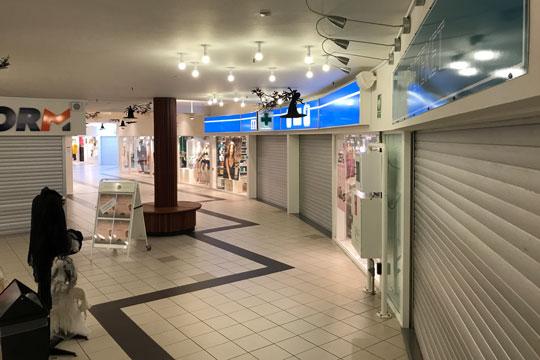 SnellemarkCentrets butikker lukket