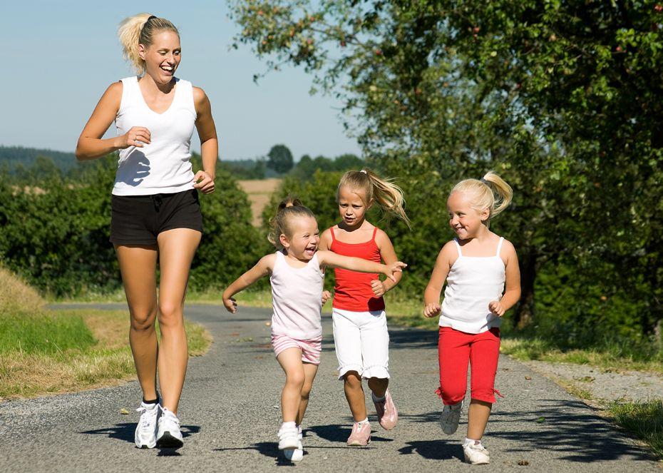 Løb med børnene på deres præmisser