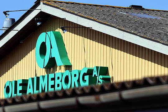 Færre ansatte hos Ole Almeborg A/S