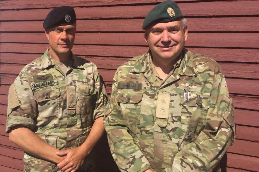 Ny militær chef på Bornholm