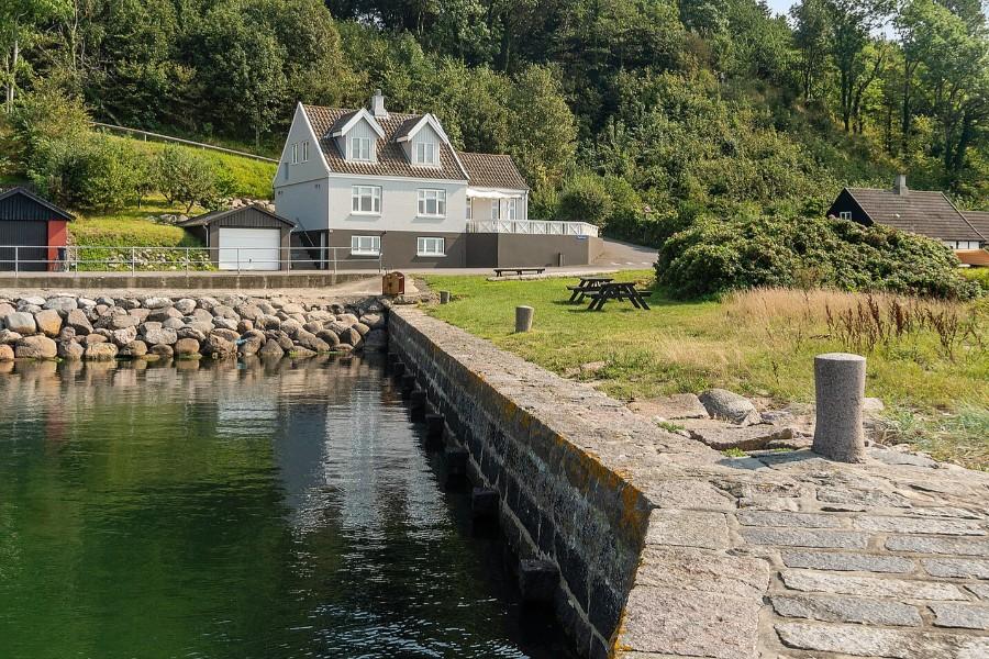 Villa med storslået udsigt i Teglkås