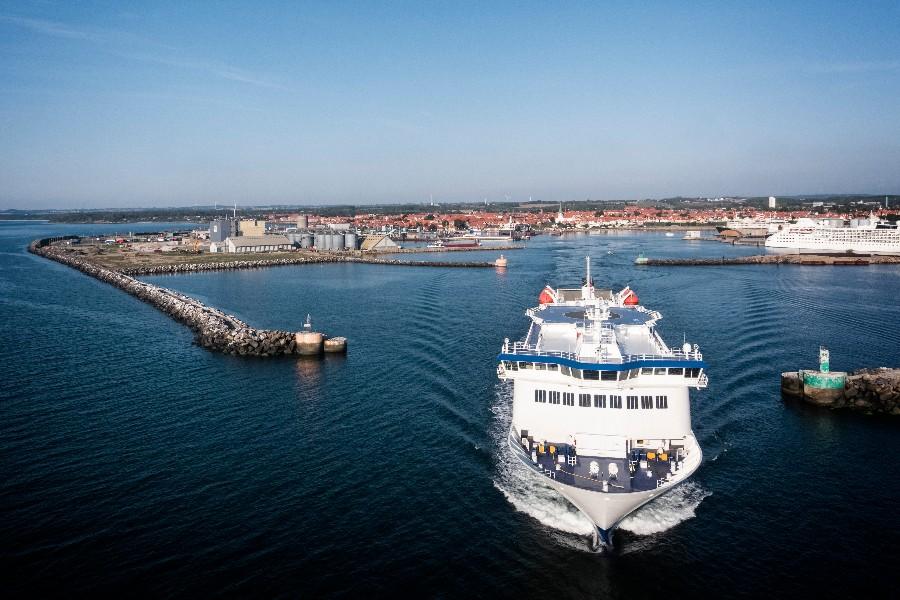 Udsolgte færger på Tysklandsrute