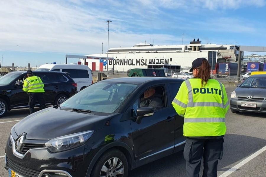 Kvindelig narkobilist anholdt