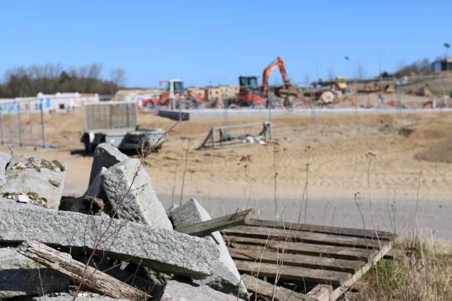 Der er gang i byggeriet af nye boliger