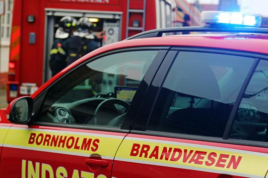 Brandvæsnet sendt til fejlagtig adresse