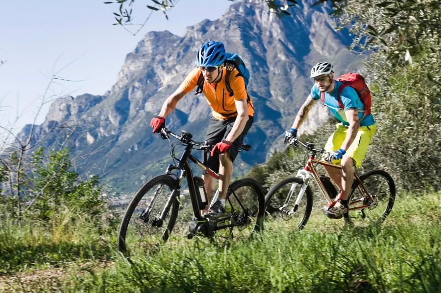 Mountainbike til cykelferien