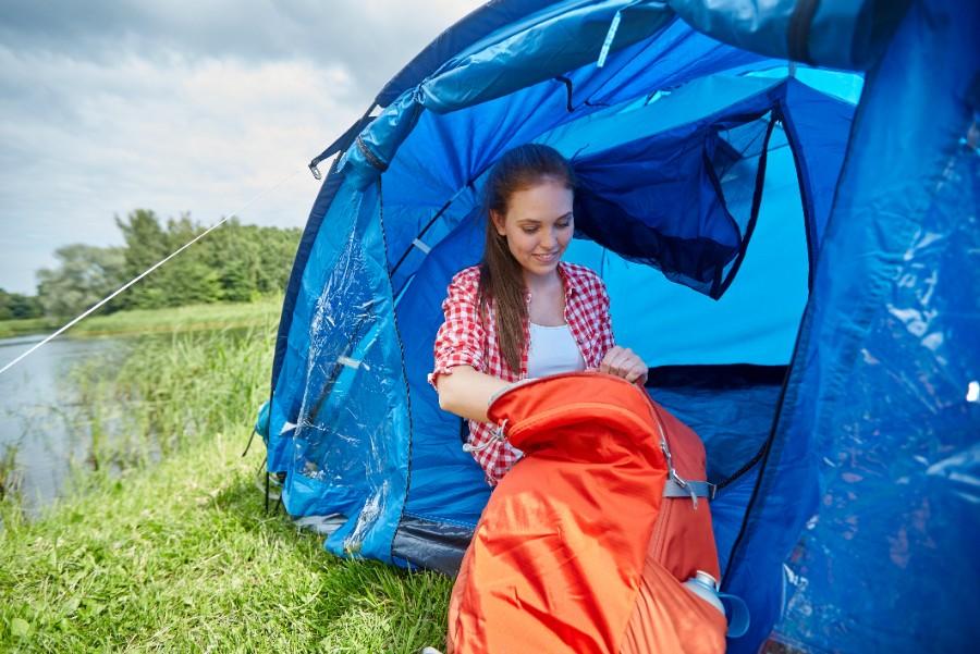 Pas på med tyveri fra teltet