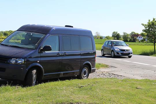 21 bilister fik fartbøder på Midtbornholm