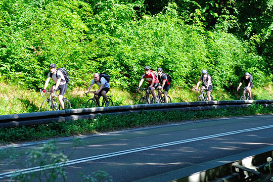 Cykelløb søndag fra Balka