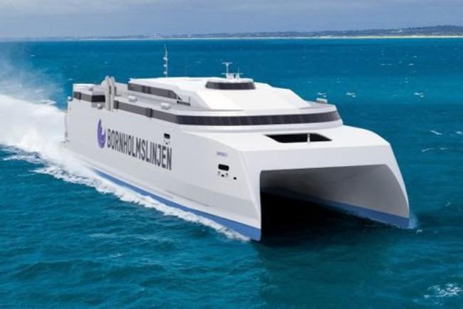 Bornholms nye gigantfærge sat i produktion