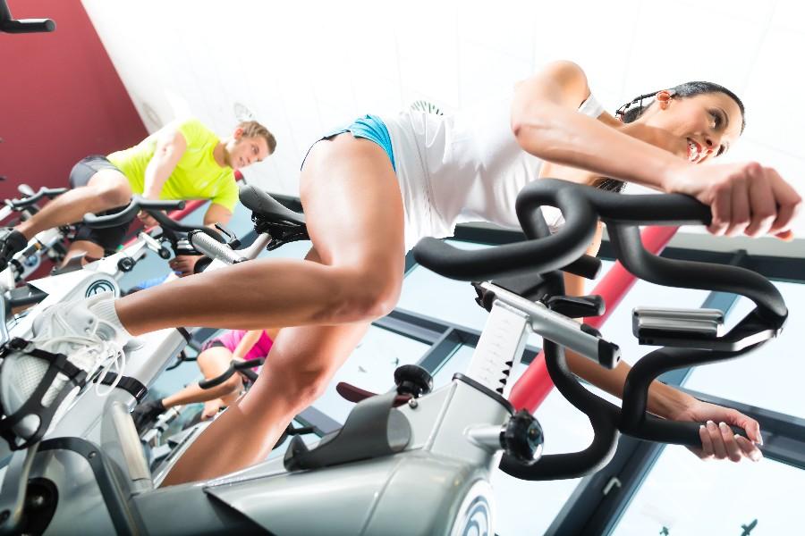 Vi vil træne i fitnesscentret