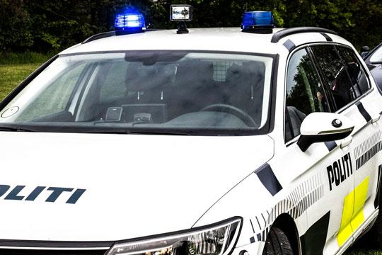 Bilist have nær påkørt politibil