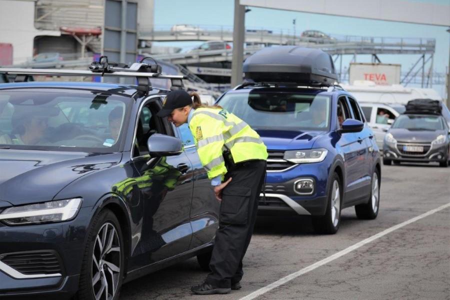 Tyskere afvist i grænsekontrol