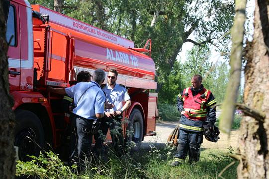 Naturbrand på Dueodde