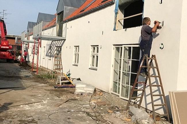 Næsten alle Striens nye boliger udlejet