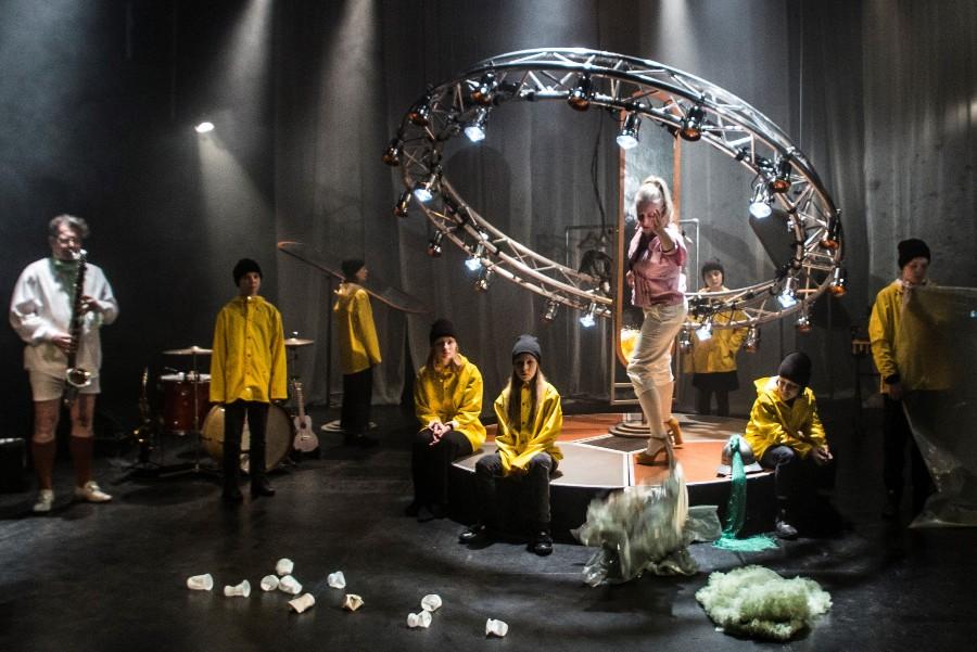 Musikalsk forestilling på Rønne Theater