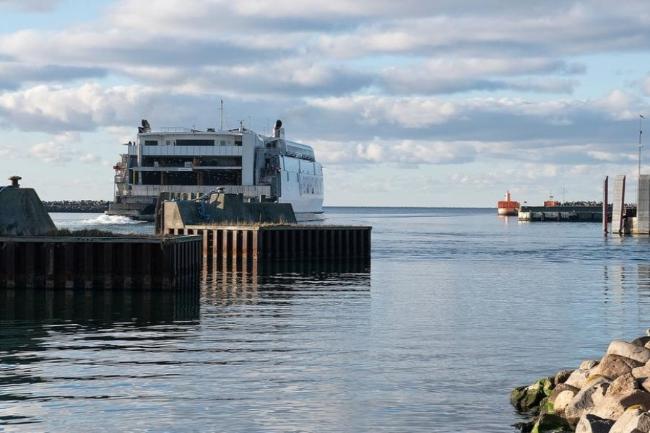 Flere biler men færre rejsende via Ystad