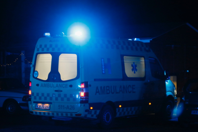 Ung mand blev alvorligt skadet i fyrværkeriulykke