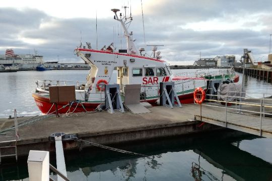 Sømand måtte evakueres fra skib