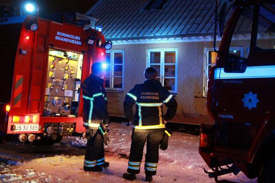 Små brande i boligen kan slukkes