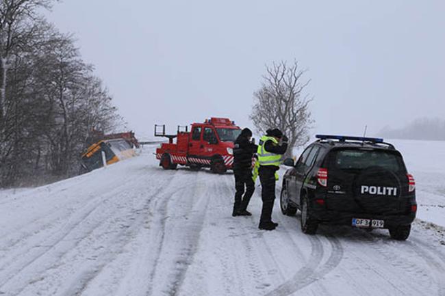 Bornholm får mest sne i gennemsnit