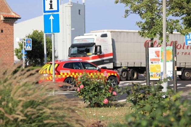 Chauffør idømt bøde efter trafikuheld