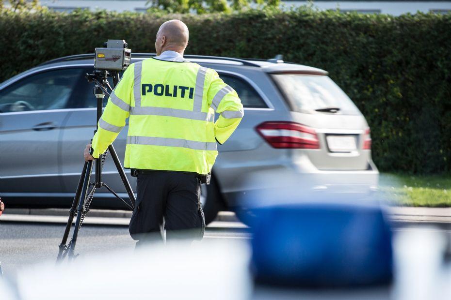 Politiet klippede i fire bilisters kørekort